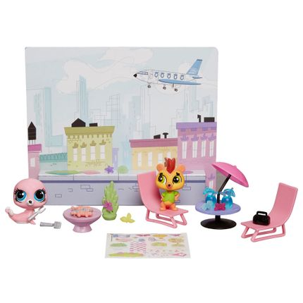 Littlest Pet Shop Cenário - Roof With - Hasbro