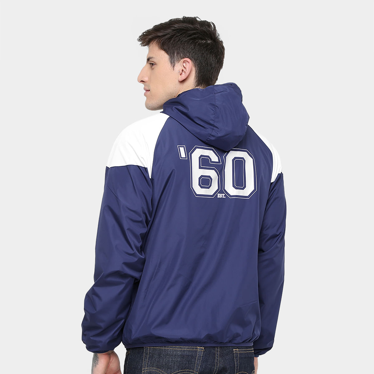 ec835a04ae94e Jaqueta New England Patriots New Era NFL Windbreaker Masculina ...