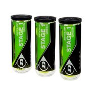 Bola-Dunlop-Stage-1-Green-Pack-com-3-Tubos_0