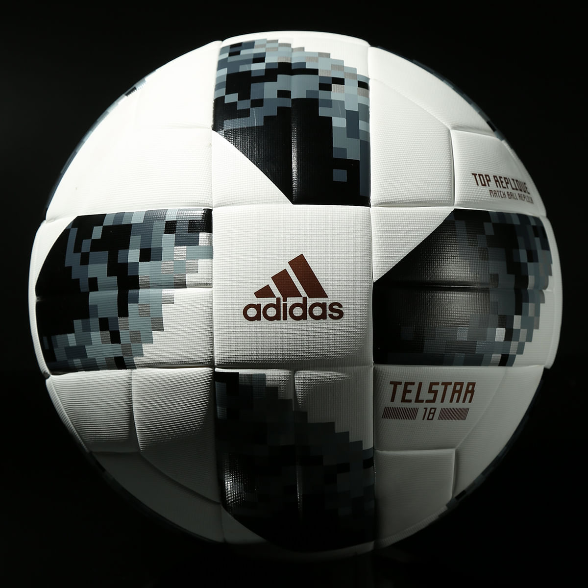 0e52d00735205 Bola Futebol Campo Adidas Telstar 18 Copa do Mundo TOP Replique FIFA ...