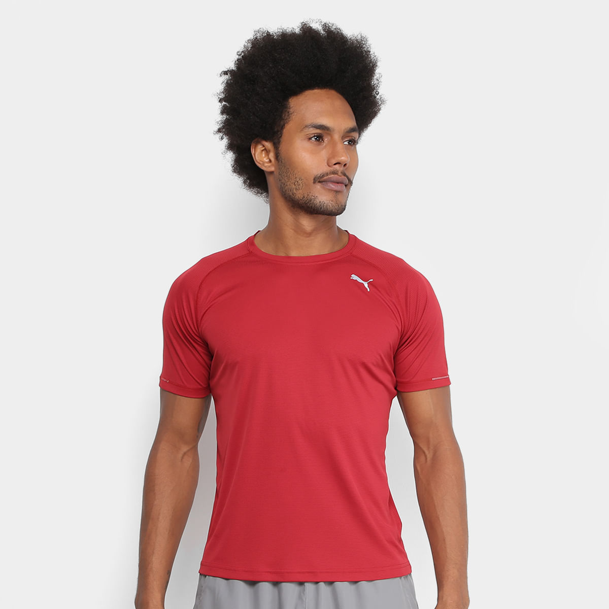 96038e77cd Camiseta Puma Core-Run Masculina - Comprar no ShopFácil - uma ...