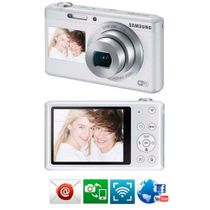 Camera-Samsung-Smart-DV180F-Branca---16-2MP-LCD-Traseiro-27-LCD-Frontal-15-Zoom-Optico-5x-Estabilizacao-Digital-de-Imagem-Wi-Fi-e-Video-HD_0