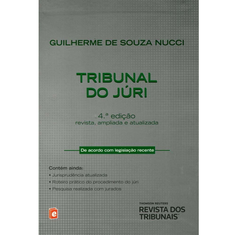 guilherme de souza nucci tribunal do juri