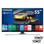 Smart-TV-3D-LED-55--Full-HD-Samsung-55J6400-com-Connect-Share-Movie-Screen-Mirroring-Quad-Core-Painel-Futebol-Wi-Fi-e-2-Oculos-3D_0