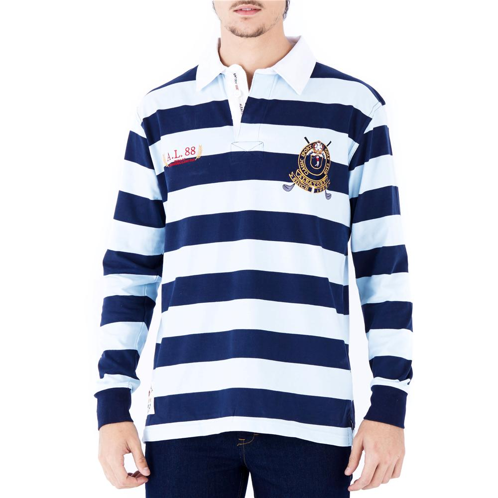 Camisa Polo Rugby Masculina 5400-DES-08 Aleatory - Comprar no ... bcd264441092d