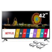 Smart-TV-Cinema-3D-LED-42--Full-HD-LG-42LF6500-com-Sistema-webOS-Wi-Fi-Painel-IPS-Entradas-HDMI-e-USB-Controle-Smart-Magic-e-4-Oculos-3D_0
