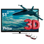 Smart-TV-3D-Plasma-51-HD-Philco-PH51C21PSG-com-Conversor-Digital-Tecnologia-Ginga-Entradas-HDMI-e-USB-e-2-Oculos-3D_0