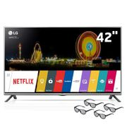 Smart-TV-Cinema-3D-LED-42--Full-HD-LG-42LF6400-com-Sistema-webOS-Wi-Fi-Painel-IPS-Entradas-HDMI-e-USB-Controle-Smart-Magic-e-4-Oculos-3D_0