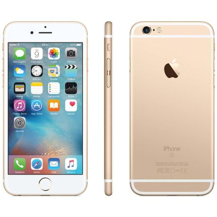Iphone 6s Dourado Ios 9 Wi-fi 4g