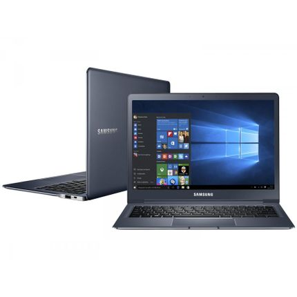 Notebook - Samsung Np930x2k-kw1br Core M-5y31 0.90ghz 8gb 256gb Intel Hd Graphics 5300 Windows 10 Style 40 12,2