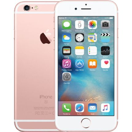 Iphone 6s 16gb Ouro Rosa Tela 4.7 Ios 9 4g 12mp - Apple