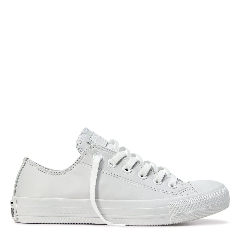 Tênis All Star CT Monochrome Leather OX - Comprar no ShopFácil - uma ... 39de4892035f3
