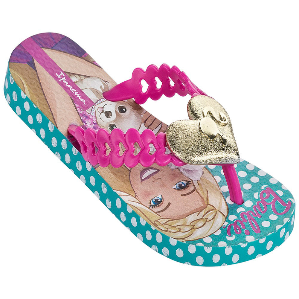 e039bc2bb6 Chinelo Infantil Pop Glam Barbie Ipanema Kids Grendene 25906 ...