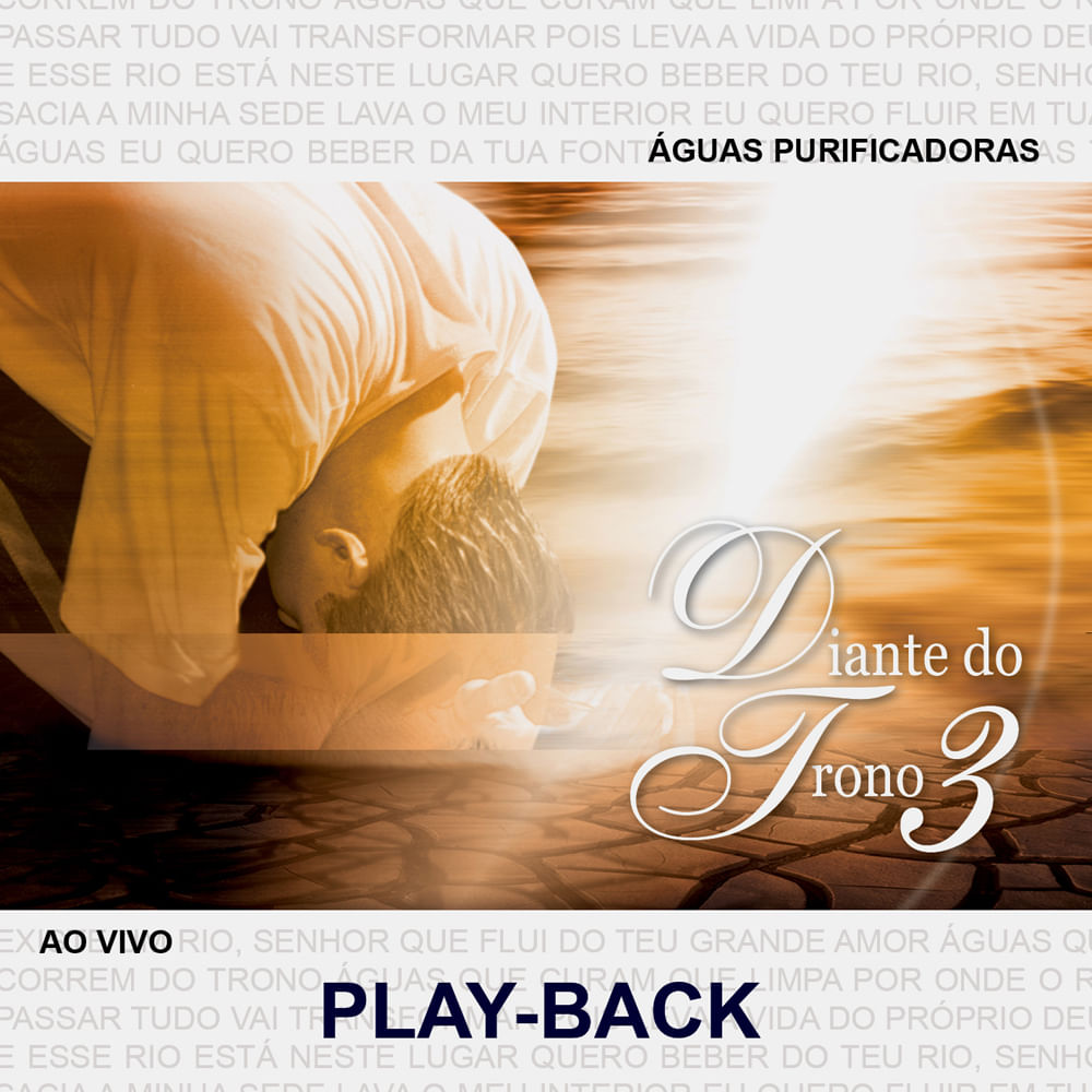 cd diante do trono aguas purificadoras playback