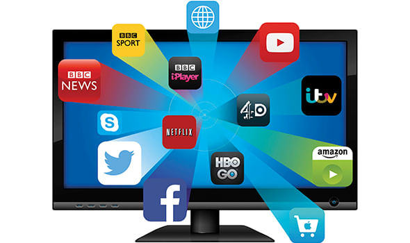 Smart TV com Possibilidade de Incluir Aplicativos