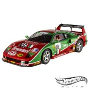 Carro-Hot-Wheels-Elite---Ferrari-F40-Competizione-Le-Mans-1995-40---1-18---Mattel_0