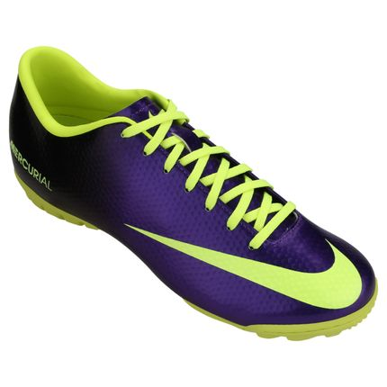 ... reduced chuteira society nike mercurial victory 4 tf masculina  roxoverde 43. opinio dos consumidores0. bacc5f6ca