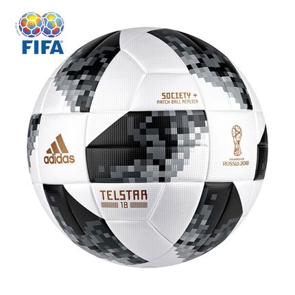 c3bde37eaded4 Bola Futebol Society Adidas Telstar 18 TOP Copa do Mundo FIFA ...