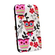 Capa-para-Galaxy-S4-Pink-Chandelier-Wallet---Flowered-Owls_0