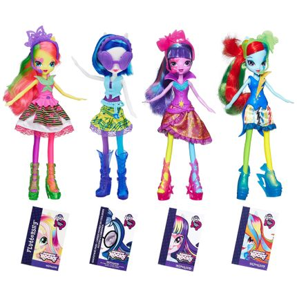 Bonecas Equestria Girls - New Fluttershy, Dj Pon-3, New Twilight ...