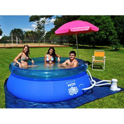 Piscina Redonda Splash Fun 2400 Litros Mor