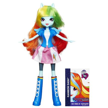 Boneca My Little Pony - Equestria Girls Look Básico - Rainbow Dash ...