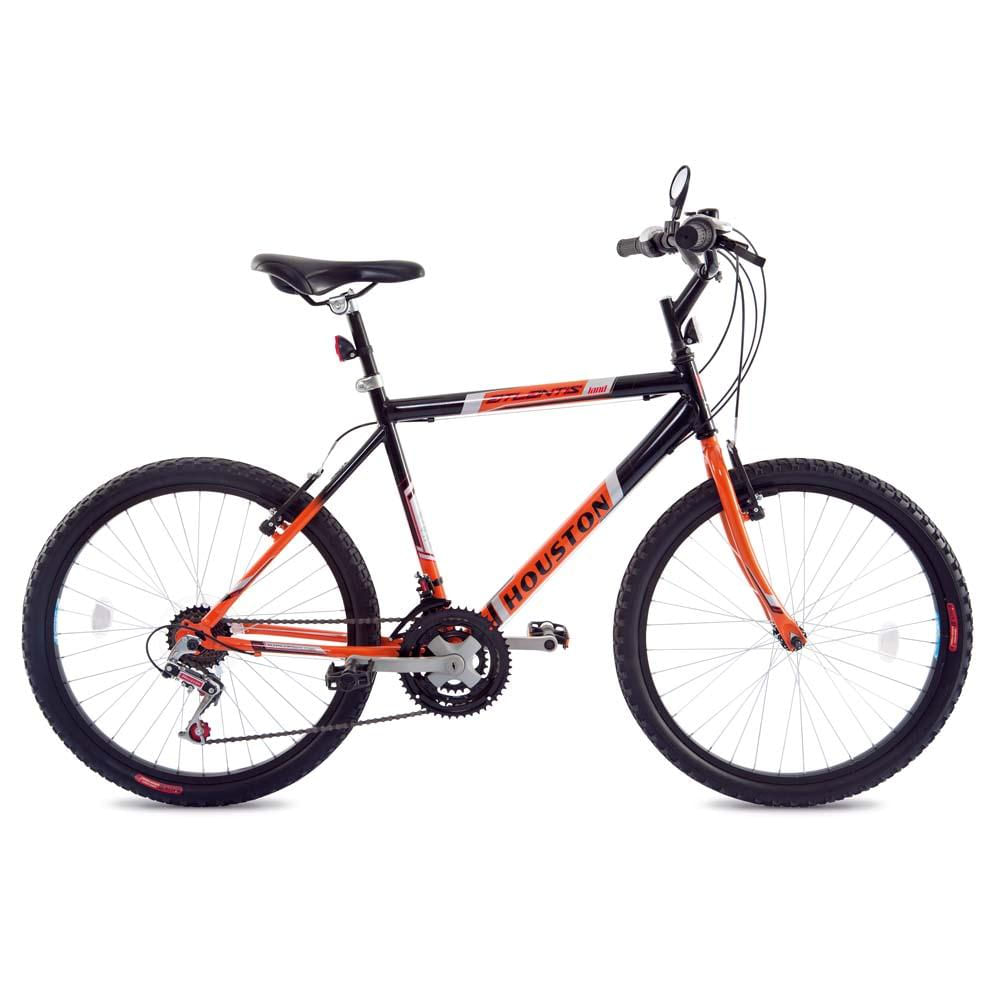 2cceea433 Bicicleta Aro 24 Houston Atlantis Land - Preto Laranja - Comprar no ...