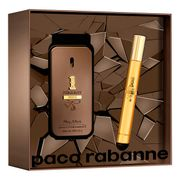 Kit Perfume One Million Privé Masculino Paco Rabanne EDP 50ml + Travel Spray 10ml Incolor Único