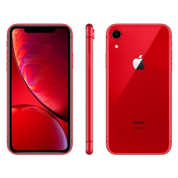 Iphone xr apple 256gb product red 4g tela 6,1