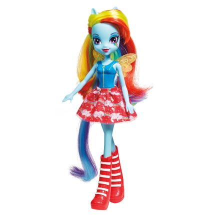 Boneca My Little Pony Equestria Girls Rainbow Dash - Hasbro ...