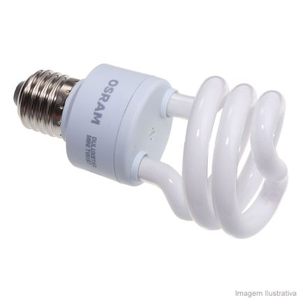 Lâmpada Osram Mini Twist 18w/827 110v
