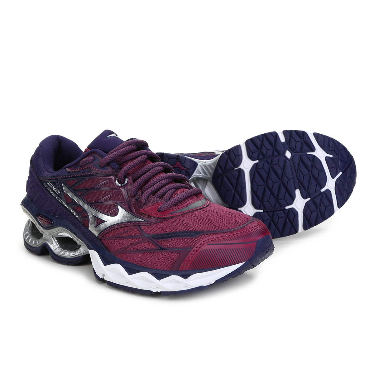 tenis mizuno wave creation 15w feminino 50