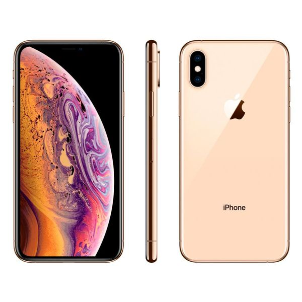 Iphone xs apple 256gb ouro 4g tela 5,8