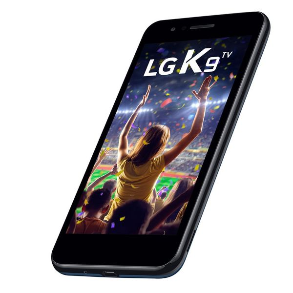 Smartphone lg k9 azul 16gb, android 7. 0, dual chip,...