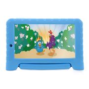 Tablet Multilaser Galinha Pintadinha Plus Quad Core 1Gb Ram Wifi 7 Pol. 8Gb Android 7 Azul  - NB282 NB282