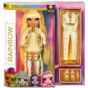 Boneca - Rainbow High Fashion - Madison - Amarelo CANDIDE