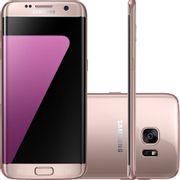 "Smartphone Samsung Galaxy S7 Android Tela 5.1"" 32GB Wi-Fi 4G Câmera 12MP - Rose"