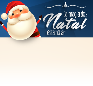 A magia do Natal está no Ar no ShopFácil