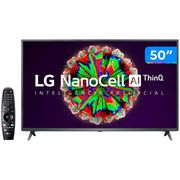 "Smart TV 4K UHD NanoCell 50"" LG 50NANO79SND - Wi-Fi Bluetooth Inteligência Artificial 3 HDMI Bivolt"