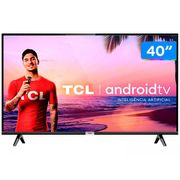 "Smart TV LED 40"" TCL 40S6500 Full HD Android - Wi-Fi HDR Inteligência Artificial 2 HDMI USB Bivolt"