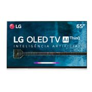 "Smart TV OLED 65"" UHD 4K LG OLED65E9PSA com ThinQ AI Inteligência Artificial IoT, HDR, Dolby Vision, Dolby Atmos, WebOS 4.5 e Controle Smart Magic."