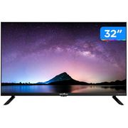 "Smart TV HD D-LED 32"" Britania BTV32G70N5CBLH - Wi-Fi 2 HDMI 1 USB Bivolt"