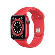 Apple Watch Series 6 44mm (PRODUCT)RED GPS - Pulseira Esportiva (PRODUCT)RED Bivolt