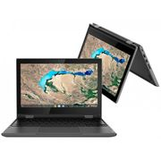 "Chromebook 2 em 1 Lenovo 300E Intel Celeron - 4GB 32GB eMMC Touch Screen 11,6"" Chrome OS Bivolt"