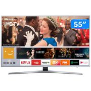 "Smart TV 4K LED 55"" Samsung UN55MU6400GXZD - Wi-Fi 3 HDMI 2 USB Bivolt"