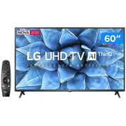 "Smart TV 4K LED 60"" LG 60UN7310PSA Wi-Fi Bluetooth - HDR Inteligência Artificial 3 HDMI 2 USB Bivolt"