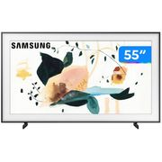 "Smart TV 4K QLED 55"" Samsung The Frame Wi-Fi - Bluetooth Modo Arte 4 HDMI 2 USB e Suporte No-Gap Bivolt"