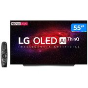 "Smart TV 4K OLED IPS 55"" LG OLED55CXPSA - Wi-Fi Bluetooth HDR Inteligência Artificial 4 HDMI Bivolt"