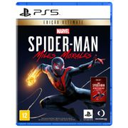 Game Marvel's Spider-Man Miles Morales Ultimate Edition Playstation