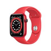 Apple Watch Series 6 44mm (PRODUCT)RED - GPS + Cellular Pulseira Esportiva (PRODUCT)RED Bivolt